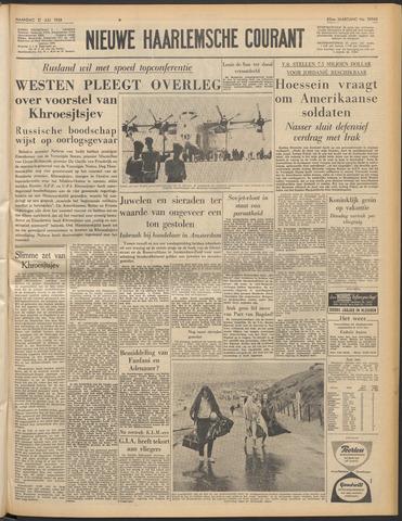 Nieuwe Haarlemsche Courant 1958-07-21