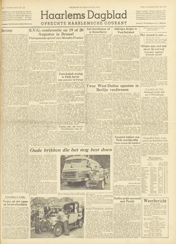 Haarlem's Dagblad 1954-08-06