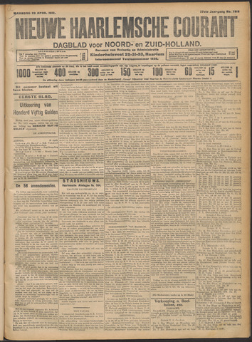 Nieuwe Haarlemsche Courant 1912-04-29