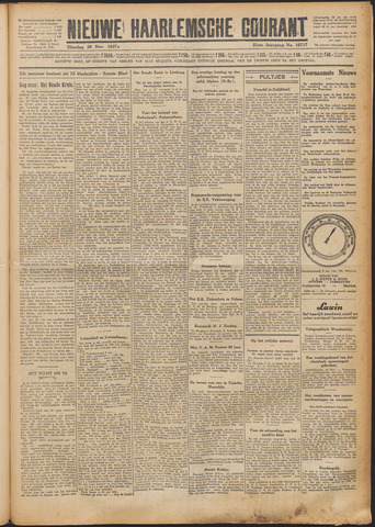 Nieuwe Haarlemsche Courant 1927-11-29