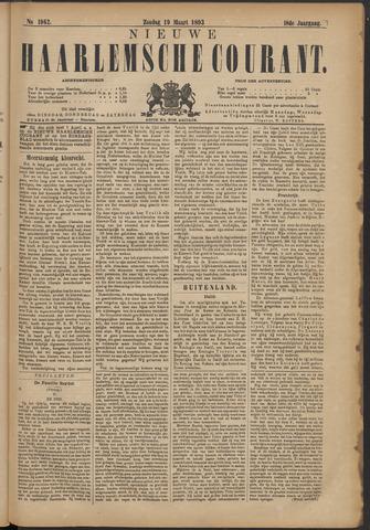 Nieuwe Haarlemsche Courant 1893-03-19