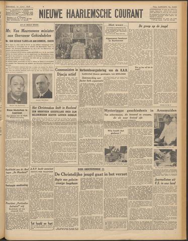 Nieuwe Haarlemsche Courant 1949-06-14