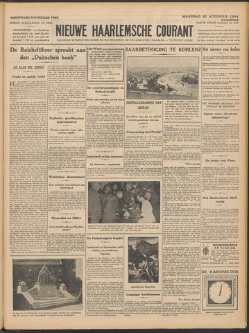 Nieuwe Haarlemsche Courant 1934-08-27