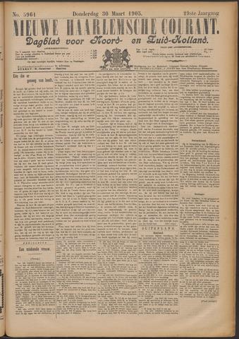 Nieuwe Haarlemsche Courant 1905-03-30
