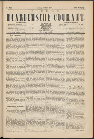 Nieuwe Haarlemsche Courant 1886-03-07