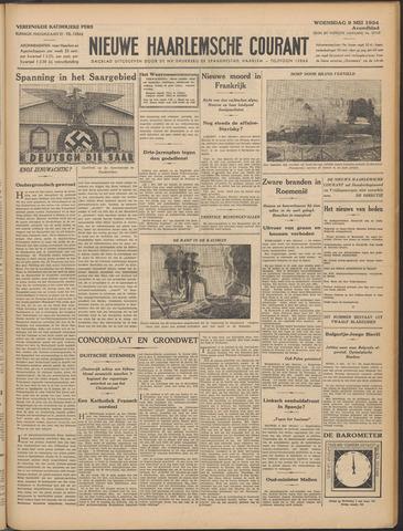 Nieuwe Haarlemsche Courant 1934-05-09