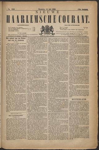 Nieuwe Haarlemsche Courant 1892-07-13