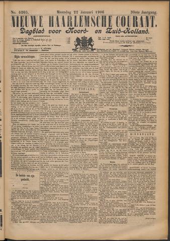 Nieuwe Haarlemsche Courant 1906-01-22