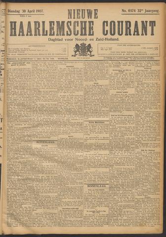 Nieuwe Haarlemsche Courant 1907-04-30