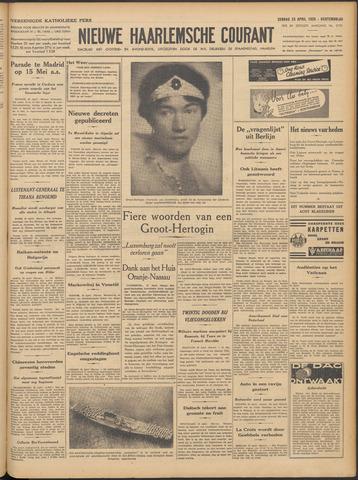 Nieuwe Haarlemsche Courant 1939-04-23
