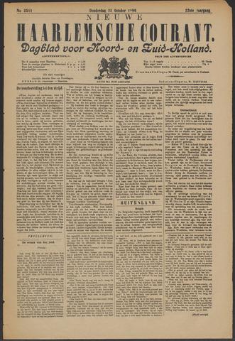 Nieuwe Haarlemsche Courant 1896-10-22