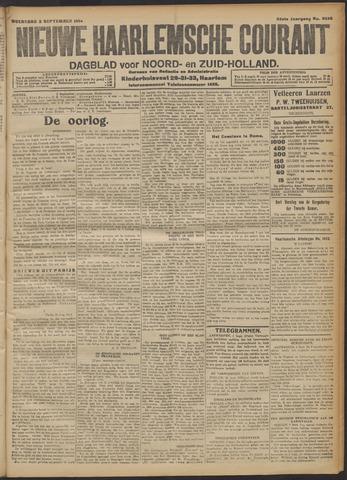 Nieuwe Haarlemsche Courant 1914-09-02