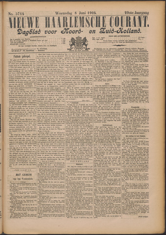 Nieuwe Haarlemsche Courant 1904-06-08