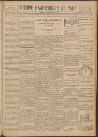 Nieuwe Haarlemsche Courant 1928-02-14