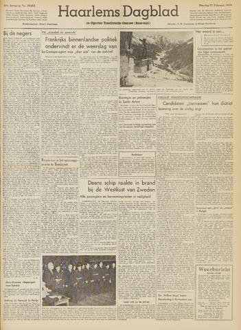 Haarlem's Dagblad 1950-02-21