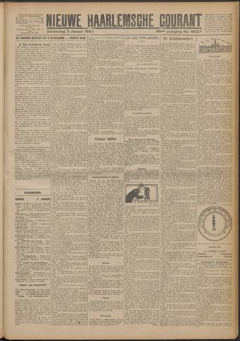 Nieuwe Haarlemsche Courant 1924-01-03