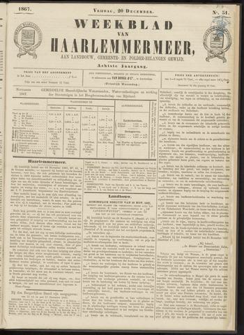 Weekblad van Haarlemmermeer 1867-12-20