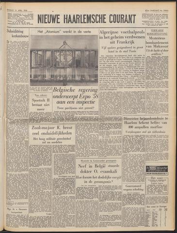 Nieuwe Haarlemsche Courant 1958-04-15