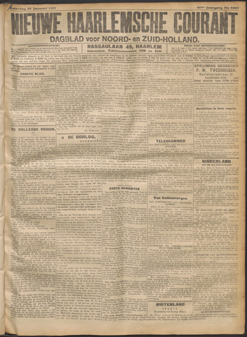 Nieuwe Haarlemsche Courant 1917-01-27