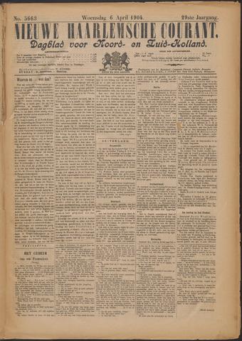 Nieuwe Haarlemsche Courant 1904-04-06