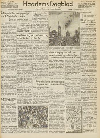 Haarlem's Dagblad 1950-08-22