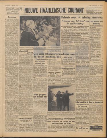 Nieuwe Haarlemsche Courant 1951-04-03