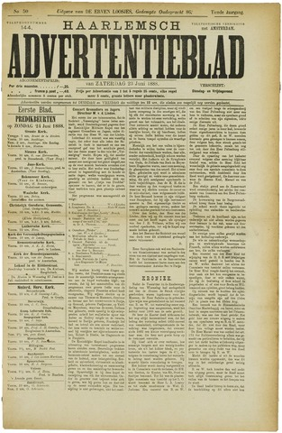 Haarlemsch Advertentieblad 1888-06-23