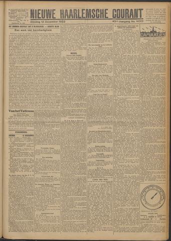 Nieuwe Haarlemsche Courant 1922-12-12
