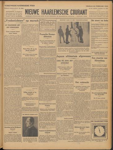 Nieuwe Haarlemsche Courant 1933-02-24