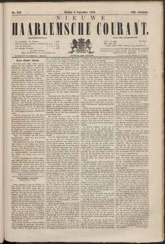Nieuwe Haarlemsche Courant 1885-09-06