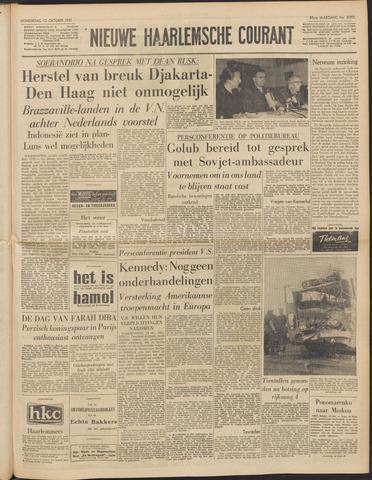 Nieuwe Haarlemsche Courant 1961-10-12