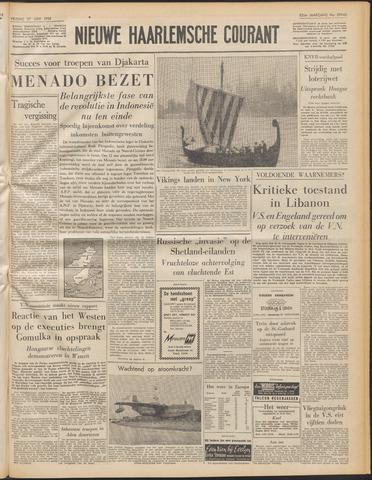 Nieuwe Haarlemsche Courant 1958-06-27
