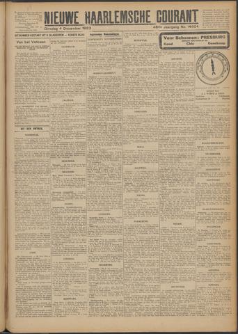 Nieuwe Haarlemsche Courant 1923-12-04