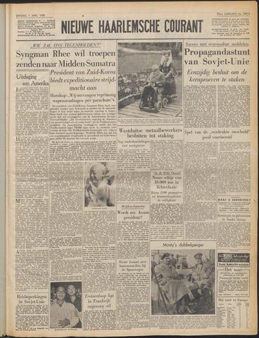 Nieuwe Haarlemsche Courant 1958-04-01