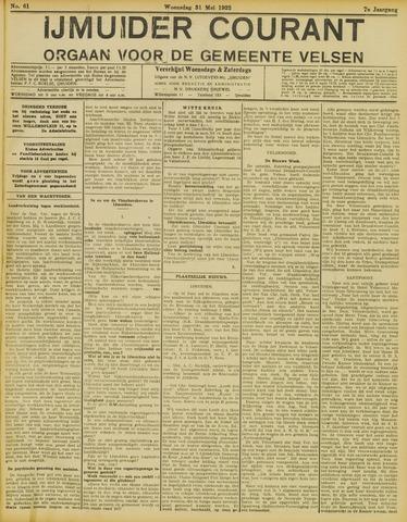 IJmuider Courant 1922-05-31