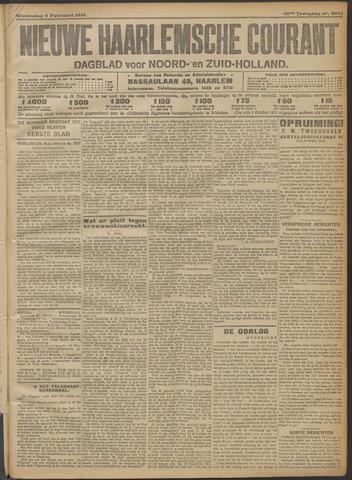 Nieuwe Haarlemsche Courant 1916-02-09