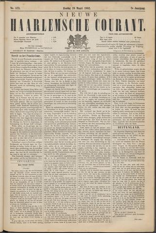 Nieuwe Haarlemsche Courant 1882-03-26