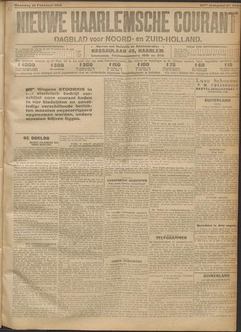 Nieuwe Haarlemsche Courant 1916-02-21