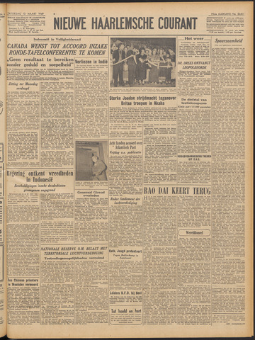 Nieuwe Haarlemsche Courant 1949-03-12