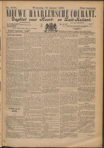 Nieuwe Haarlemsche Courant 1906-01-10