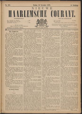 Nieuwe Haarlemsche Courant 1879-11-30