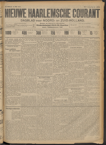 Nieuwe Haarlemsche Courant 1908-05-16
