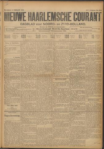Nieuwe Haarlemsche Courant 1909-02-15