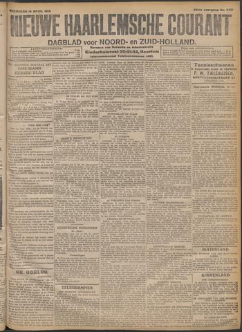 Nieuwe Haarlemsche Courant 1915-04-14