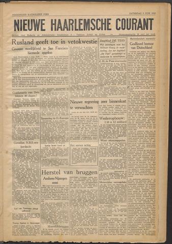 Nieuwe Haarlemsche Courant 1945-06-09