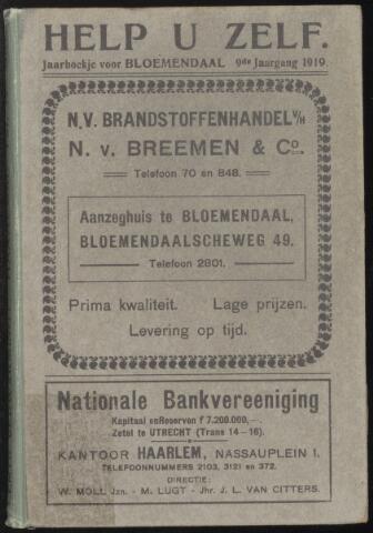 Adresboeken Bloemendaal 1919