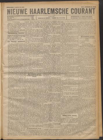 Nieuwe Haarlemsche Courant 1920-08-05