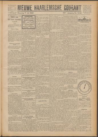 Nieuwe Haarlemsche Courant 1922-07-17
