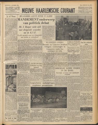 Nieuwe Haarlemsche Courant 1954-10-06