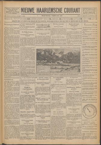 Nieuwe Haarlemsche Courant 1930-02-05